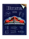 1930s USA Buick Magazine Advertisement Giclee Print
