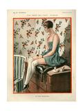 1920s France La Vie Parisienne Magazine Plate Posters