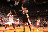 Miami, FL - June 20: Tim Duncan Photographic Print by Nathaniel S. Butler