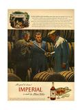 1940s USA Imperial Magazine Advertisement Impression giclée