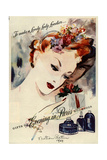1940s USA Bourjois Magazine Advertisement Giclee Print
