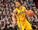 Miami, FL - May 24: D.J. Augustin Photographie par Issac Baldizon