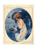 1920s France La Vie Parisienne Magazine Plate Art