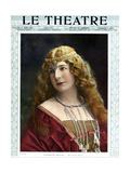 1900s France Le Theatre Magazine Cover Art