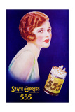 1930s UK State Express 555 Magazine Advertisement Giclee Print