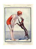 1920s France La Vie Parisienne Magazine Plate Affiches