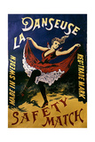 1920s France La Danseuse Label Giclee Print