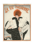 1920s France La Vie Parisienne Magazine Cover - Giclee Baskı