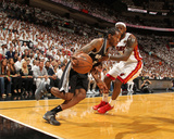 Miami, FL - June 20: Kawhi Leonard and LeBron James Photographic Print by Issac Baldizon