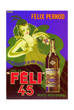 1930s France Felix Pernod Poster Giclee Print