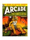 1960s USA Arcade Comics Comic/Annual Cover Digitálně vytištěná reprodukce