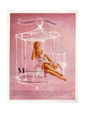 1950s UK Munsingwear Magazine Advertisement Giclee Print