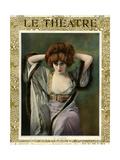 1900s France Le Theatre Magazine Cover Prints