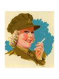 1940s UK Pinups Poster Giclee Print