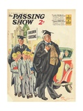 1930s UK The Passing Show Magazine Cover Art