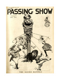 1910s UK Passing Show Magazine Cover Prints