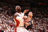 Miami, FL - June 20: LeBron James and Danny Green Photographic Print by Nathaniel S. Butler
