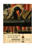 1940s USA Imperial Magazine Advertisement Art