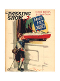 1930s UK The Passing Show Magazine Cover Posters