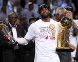 Mike Ehrmann - Miami, FL - June 20: LeBron James - Photo