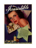 1930s USA Irresitible Magazine Advertisement Prints