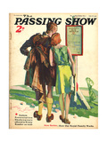 1930s UK Passing Show Magazine Cover Poster