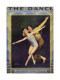 1920s USA The Dance Magazine Cover Posters