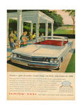 1960s USA Pontiac Magazine Advertisement Posters