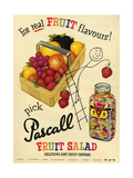 1950s UK Pascall Magazine Advertisement Prints