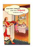 1950s UK Hotpoint Magazine Advertisement Giclee Print