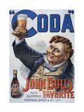 1890s UK John Bull's Poster Poster