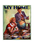 1930s USA My Home Magazine Cover Giclee Print