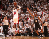 Miami, FL - June 20: LeBron James and Kawhi Leonard Photographic Print by Nathaniel S. Butler