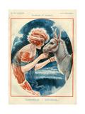1920s France La Vie Parisienne Magazine Plate Pósters
