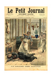 France Le Petit Journal Magazine Cover Giclee Print