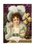 1890s USA Coca-Cola Magazine Advertisement Giclée-tryk