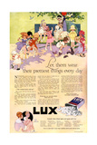 1910s USA Lux Magazine Advertisement Prints