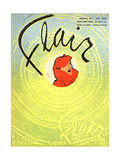 1950s USA Flair Magazine Cover Giclee Print