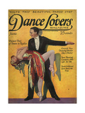 1920s USA Dance Lovers Magazine Cover Giclee Print