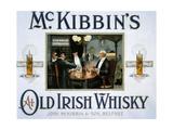 1900s UK McKibbin's Poster Print
