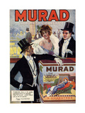 1910s USA Murad Magazine Advertisement Prints