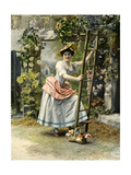 1900s France Le Theatre Magazine Plate Giclee Print