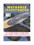 1950s USA Mechanix Illustrated Magazine Cover Giclee Print