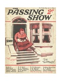 1920s UK The Passing Show Magazine Cover Giclee Print