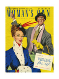 1940s UK Womans Own Magazine Cover Giclee Print