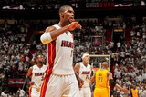 Miami, FL - May 24: Chris Bosh Photographic Print by Issac Baldizon