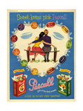 1950s UK Pascall Magazine Advertisement Giclee Print