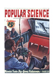1940s USA Popular Science Magazine Cover Giclee Print