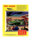 1950s USA Bohn Magazine Advertisement Giclee Print