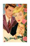 1950s UK Romance Magazine Plate Print